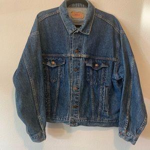 Vintage Mens Levis Strauss & Co Jean Jacket XL G32